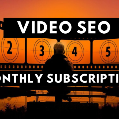Video SEO Monthly Subscription