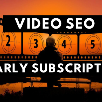 Video SEO Yearly Subscription